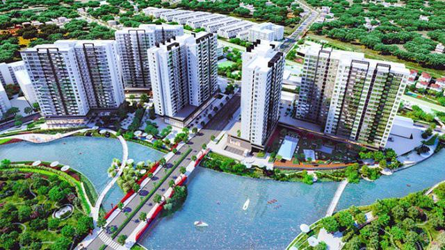 Cơ hội tốt sở hữu căn hộ kênh đào Flora Mizuki - Ảnh 1.