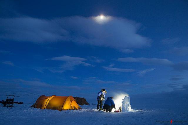 Chinh phục Bắc Cực miễn phí cùng Hoàng Lê Giang - Ảnh 1.