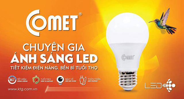 Chiếu sáng tiết kiệm điện nhất với đèn LED - Ảnh 2.