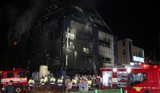 Cháy tòa nhà thương mại Hàn Quốc, ít nhất 29 người chết - Ảnh 3.