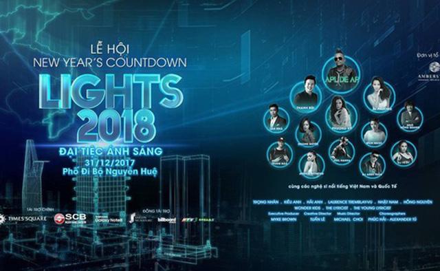 Nghệ sĩ quốc tế quy tụ trong đêm nhạc mừng năm mới tại TP.HCM - Ảnh 1.