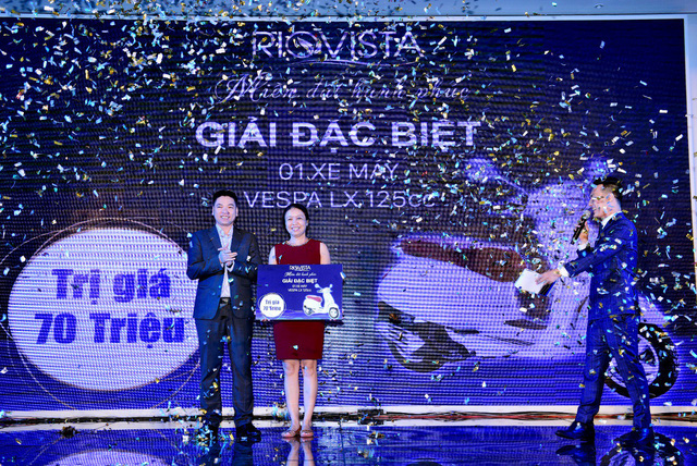 Cháy hàng trong lễ công bố 'Miền đất hạnh phúc' RioVista - Ảnh 3.