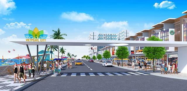 Tại Vietpearl City có thể nghỉ dưỡng kết hợp kinh doanh thương mại tuyệt vời