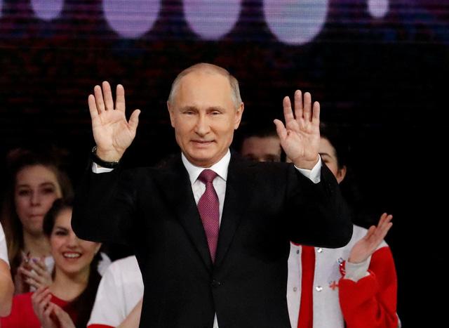 Ông Putin tái tranh cử tổng thống Nga - Ảnh 1.