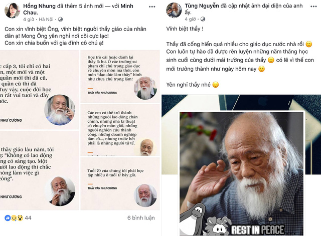 Cựu học sinh Lương Thế Vinh vĩnh biệt thầy Văn Như Cương - Ảnh 5.