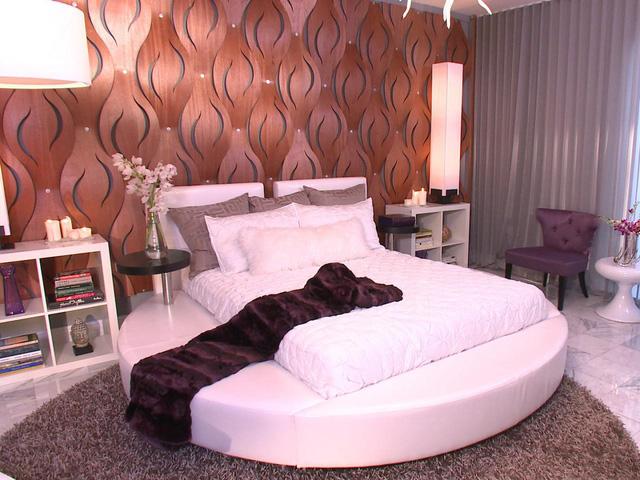 Các mẫu giường tròn cho cặp đôi lãng mạn - Ảnh 7.