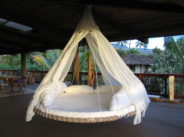 Các mẫu giường tròn cho cặp đôi lãng mạn - Ảnh 8.