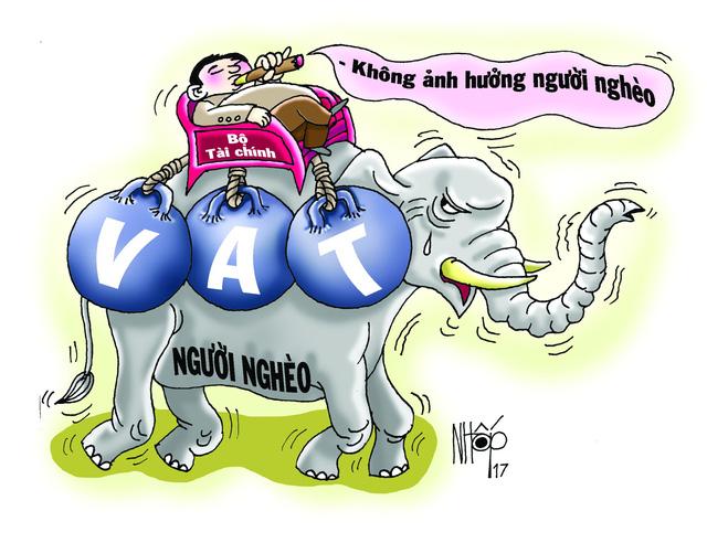 Tăng thuế VAT không ảnh hưởng... người cõi trên - Ảnh 1.