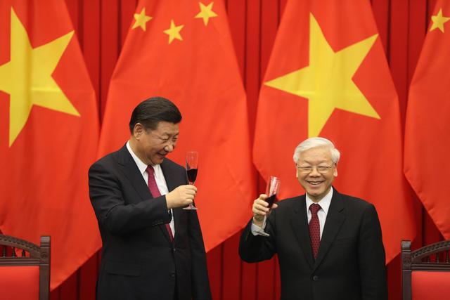 Tổng Bí thư Nguyễn Phú Trọng hội đàm với Tổng Bí thư, Chủ tịch nước Trung Quốc Tập Cận Bình - ảnh 2