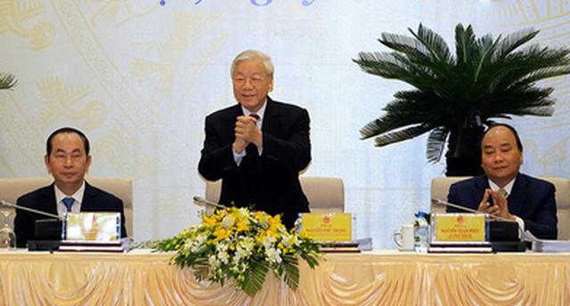 Tổng bí thư: Nghiêm minh với cả lãnh đạo cao cấp của Đảng - Ảnh 1.