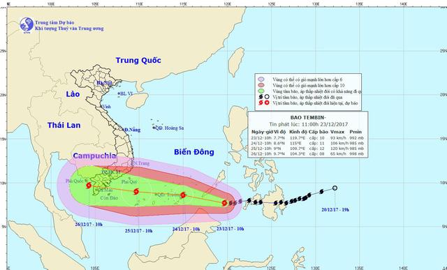 Chuẩn bị tinh thần đối phó bão Tembin ở cấp thảm họa - Ảnh 3.