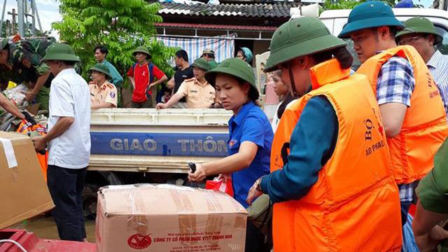 Thanh Hóa: hàng nghìn nhà dân ngập nước, huyện cứu trợ khẩn cấp - Ảnh 11.
