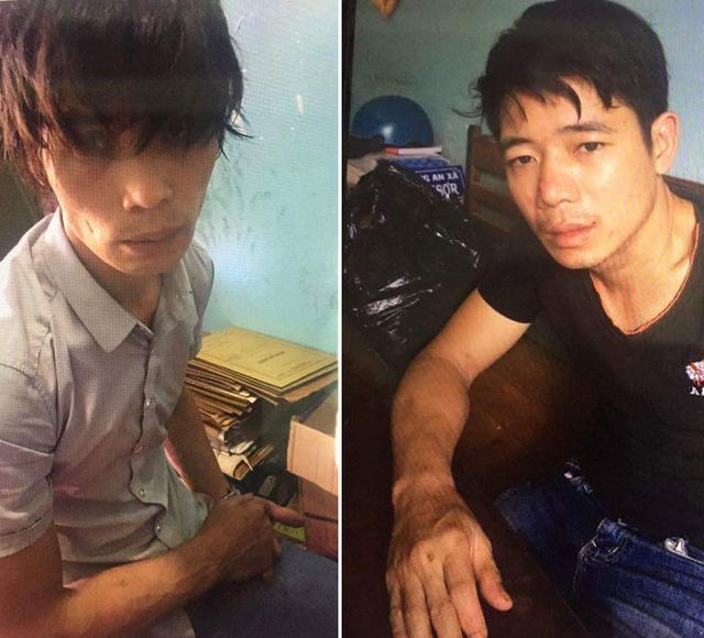 Cảnh sát giao thông bắt hai người mang súng và ma túy - Ảnh 1.