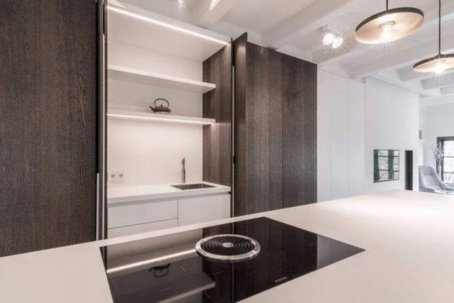 Thiết kế siêu thoáng khiến căn hộ Amsterdam rộng hơn hẳn - Ảnh 5.