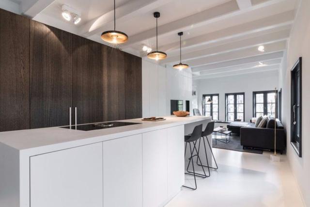 Thiết kế siêu thoáng khiến căn hộ Amsterdam rộng hơn hẳn - Ảnh 3.