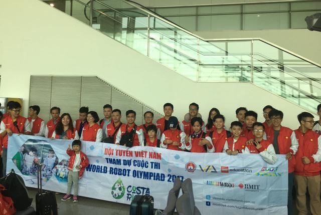 Việt Nam dự chung kết thế giới Robot Olympiad 2017