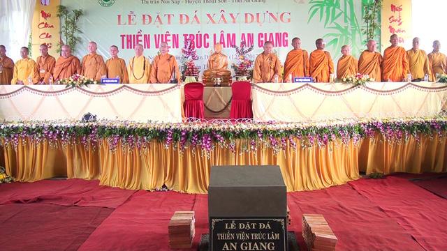 Khởi công xây dựng thiền viện Trúc Lâm An Giang - ảnh 1