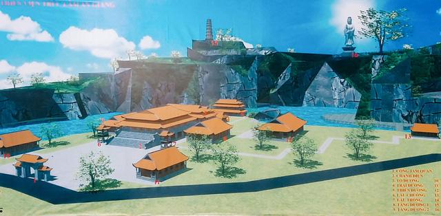 Khởi công xây dựng thiền viện Trúc Lâm An Giang - ảnh 2