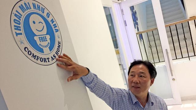 Nhân rộng mô hình nhà vệ sinh miễn phí của Nguyễn Hồng Sơn  - Ảnh 1.