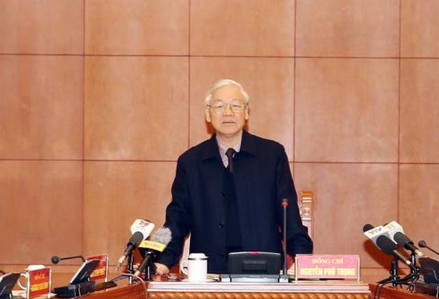 Tổng bí thư yêu cầu tập trung xét xử vụ Trịnh Xuân Thanh - Ảnh 1.