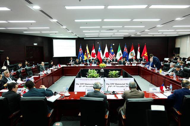 Các bộ trưởng ra tuyên bố chung TPP với tên gọi mới - Ảnh 1.
