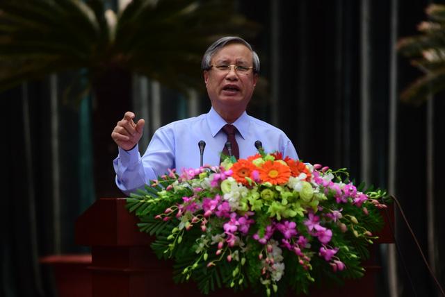 Ông Trần Quốc Vượng chính thức làm Thường trực Ban Bí thư - Ảnh 1.