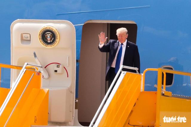 Tổng thống Trump đến Đà Nẵng, Mỹ viện trợ 1 triệu USD - Ảnh 1.