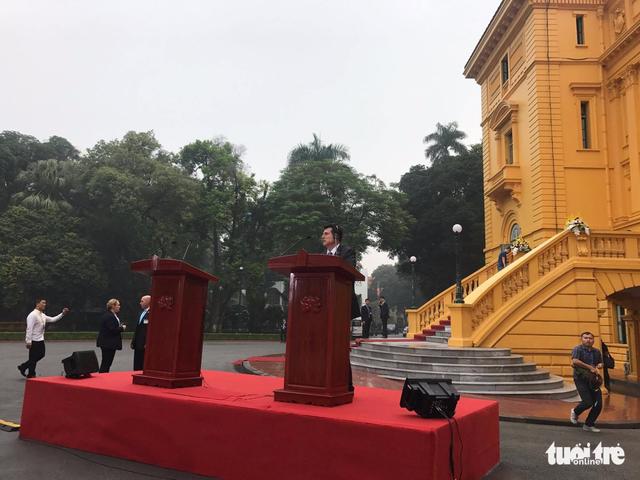 Việt Nam - Hoa Kỳ nhất trí làm sâu sắc hơn quan hệ toàn diện - Ảnh 1.
