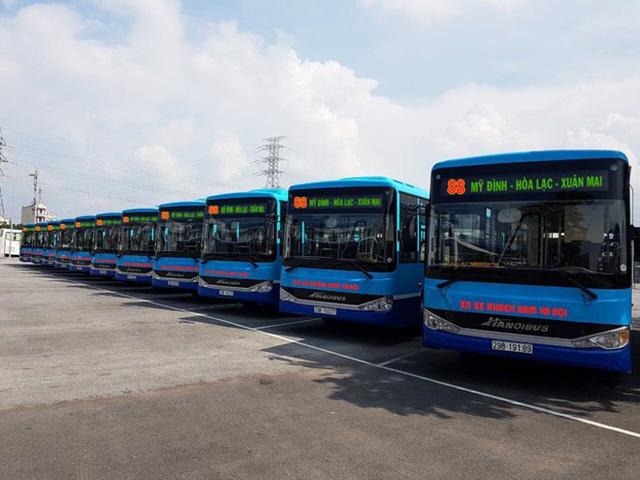 Hà Nội: Thay mới hàng loạt xe buýt chất lượng cao - Ảnh 1.