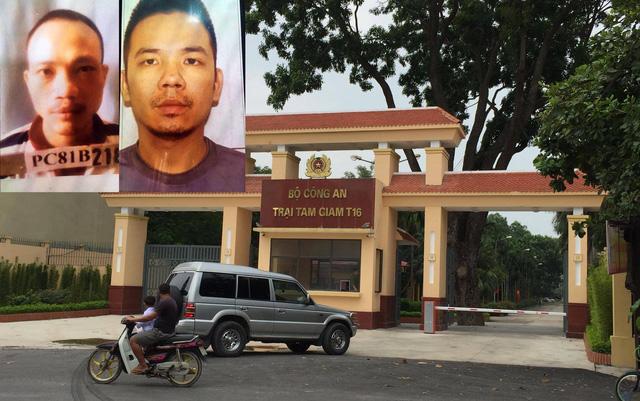 Khởi tố 3 công an thiếu trách nhiệm vụ 2 tử tù trốn trại - Ảnh 1.