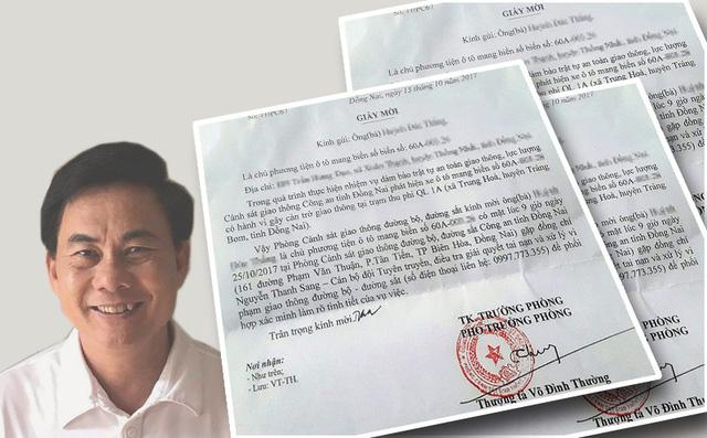 Luân chuyển công tác Thượng tá Võ Đình Thường - Ảnh 1.