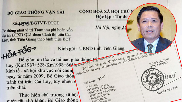 Trạm BOT Cai Lậy nhầm chỗ: Bộ trưởng Nguyễn Văn Thể cần sửa sai! - Ảnh 2.