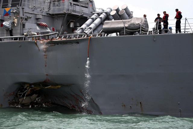 Singapore: Tàu USS John McCain không gửi tín hiệu AIS - Ảnh 1.