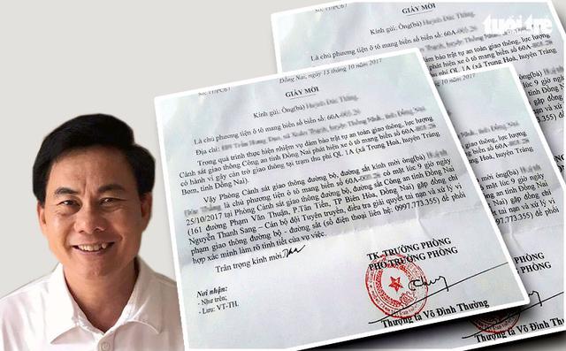 Công an Đồng Nai: bổ nhiệm thượng tá Võ Đình Thường là đúng quy trình - Ảnh 1.