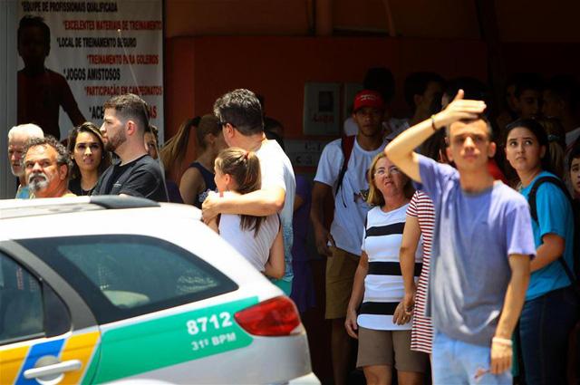 Bị bắt nạt, nam sinh Brazil bắn chết 2 bạn học - Ảnh 1.
