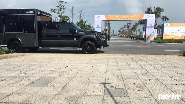 Tổng thống Donald Trump đã đến Đà Nẵng - Ảnh 3.