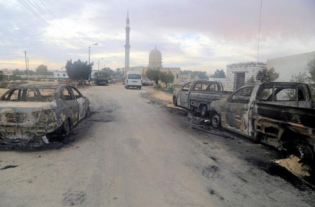 Khủng bố ở Ai Cập: 305 người chết, nhóm khủng bố vẫy cờ IS - Ảnh 2.