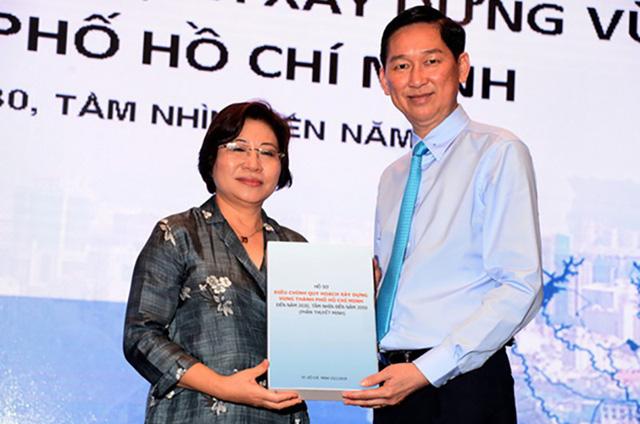 Công bố quy hoạch xây dựng vùng TP.HCM thành trung tâm kinh tế lớn của Đông Nam Á - Ảnh 1.
