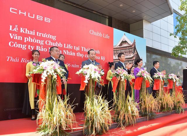 Chubb Life Việt Nam khai trương văn phòng kinh doanh mới tại Thái Bình và Thái Nguyên - Ảnh 1.