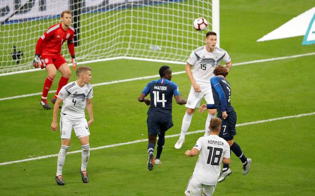 Griezmann lập cú đúp, Pháp thắng ngược Đức tại Stade de France - Ảnh 2.