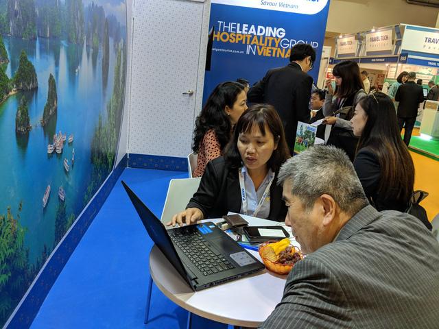 Du lịch Việt Nam kéo khách quốc tế từ Hội chợ ITB châu Á Singapore 2018 - Ảnh 1.