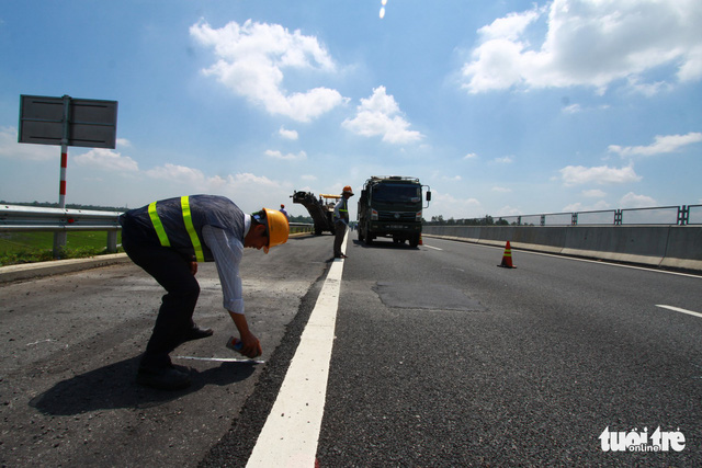 Cao tốc Đà Nẵng - Quảng Ngãi được sửa xong - Ảnh 5.