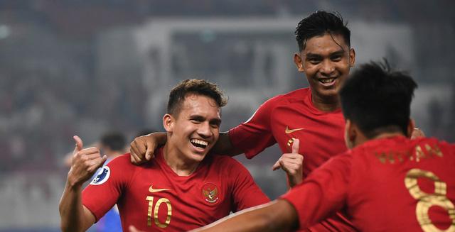 Indonesia thắng tưng bừng trận ra quân Giải U19 châu Á 2018 - Ảnh 1.