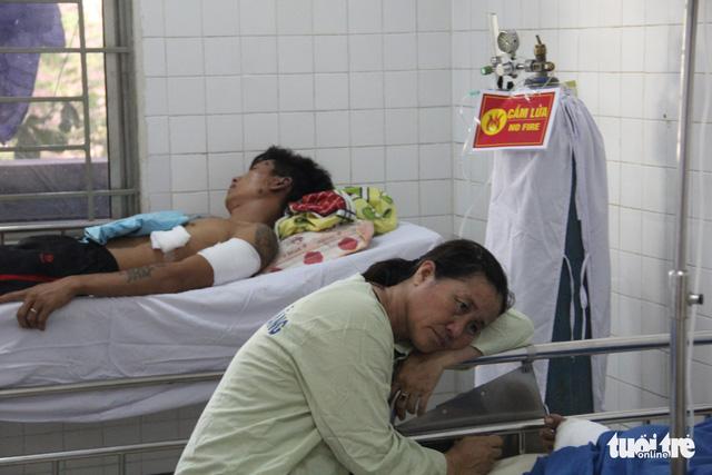 Vụ nổ tàu cá Quảng Ngãi: Tôi chỉ nghe tiếng nổ rền trời - Ảnh 5.