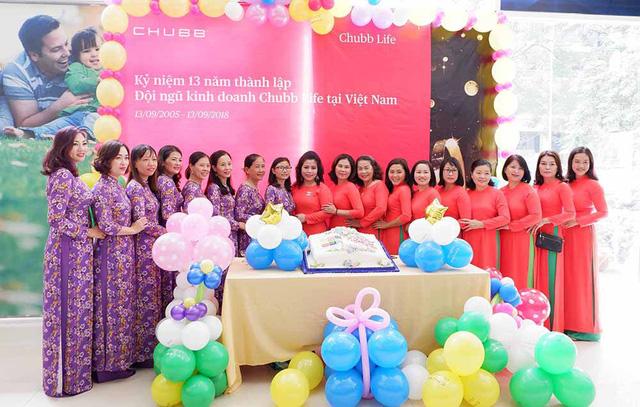 """""""Ngày đặc biệt"""" của đội ngũ kinh doanh Chubb Life Việt Nam - Ảnh 1."""