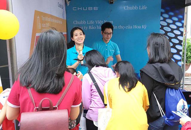 Chubb Life Việt Nam tham gia Ngày hội Việc làm tại Đại học Ngoại thương - Ảnh 1.