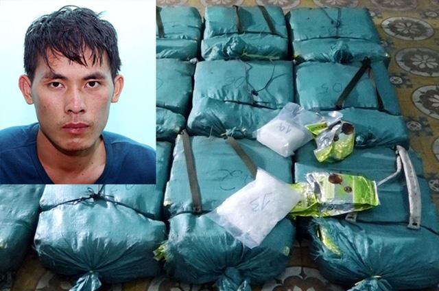 Khởi tố 1 người Lào vận chuyển hơn 308kg ma túy - Ảnh 1.