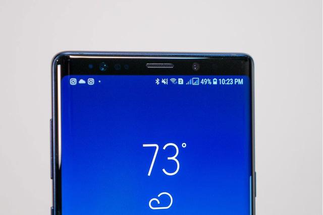 Samsung thử nghiệm smartphone có camera selfie nằm dưới màn hình - Ảnh 1.