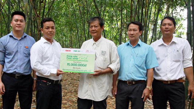 Hỗ trợ vốn cho 2 mô hình  Cùng xây cuộc sống xanh tại Đồng Tháp - Ảnh 1.