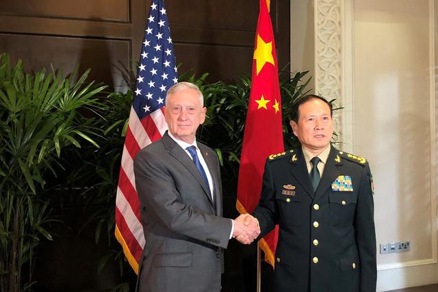 Mỹ cân nhắc đưa tàu qua eo biển Đài Loan - Ảnh 1.